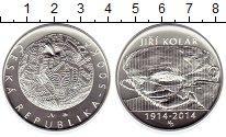 Изображение Монеты Чехия 500 крон 2014 Серебро UNC