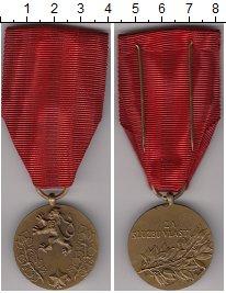 Изображение Монеты Чехословакия Медаль 0 Бронза UNC- За заслуги перед гос