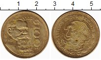 Изображение Монеты Мексика 100 песо 1992 Латунь XF