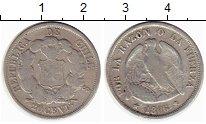 Изображение Монеты Чили 20 сентаво 1866 Серебро XF-