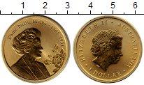 Изображение Монеты Австралия 1 доллар 2011 Латунь UNC Австралийская певица