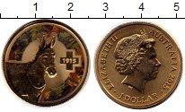 Изображение Монеты Австралия и Океания Австралия 1 доллар 2015 Латунь UNC