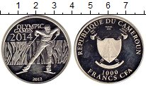 Изображение Монеты Камерун 1000 франков 2012 Серебро Proof-