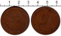Изображение Монеты Мексика 20 сентаво 1915 Медь XF