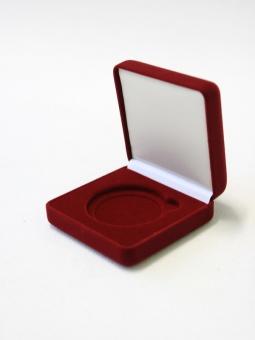 Изображение Аксессуары для монет Бархат Подарочный футляр для монеты Ø 60 мм 0   Подарочный футляр пр