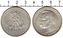 Изображение Монеты Европа Польша 50000 злотых 1988 Серебро Proof-