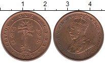 Изображение Монеты Шри-Ланка Цейлон 1 цент 1925 Бронза XF+