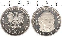 Изображение Монеты Европа Польша 100 злотых 1976 Серебро Proof-
