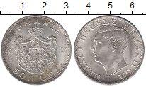 Изображение Монеты Румыния 500 лей 1944 Серебро XF+