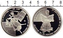 Изображение Монеты Испания 10 евро 2005 Серебро Proof