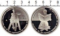 Изображение Монеты Европа Испания 10 евро 2005 Серебро Proof