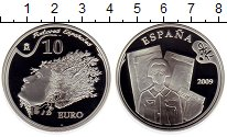 Изображение Монеты Испания 10 евро 2009 Серебро Proof