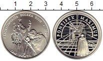 Изображение Монеты Европа Польша 10 злотых 2002 Серебро Proof