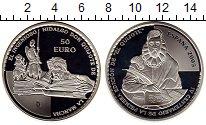 Изображение Монеты Европа Испания 50 евро 2005 Серебро Proof