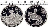 Изображение Монеты Европа Испания 50 евро 2010 Серебро Proof