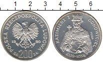 Изображение Монеты Польша 200 злотых 1980 Серебро Proof