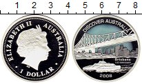 Изображение Монеты Австралия и Океания Австралия 1 доллар 2008 Серебро Proof