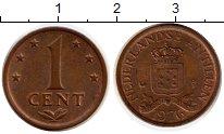 Изображение Монеты Антильские острова 1 цент 1976 Бронза XF