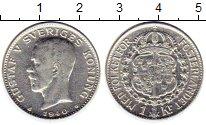 Изображение Монеты Швеция 1 крона 1940 Серебро XF