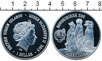Изображение Мелочь Северная Америка Виргинские острова 1 доллар 2015 Посеребрение Proof
