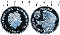 Изображение Мелочь Виргинские острова 1 доллар 2015 Посеребрение Proof