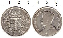 Изображение Монеты Новая Зеландия 1/2 кроны 1934 Серебро VF