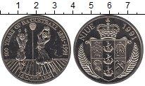 Изображение Монеты Ниуэ 5 долларов 1991 Медно-никель UNC-