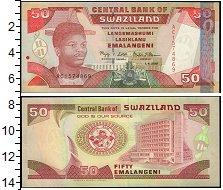 Изображение Банкноты Свазиленд 50 эмалангени 2001  UNC