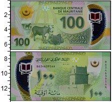 Изображение Банкноты Мавритания 100 угий 2017  UNC