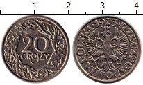 Изображение Монеты Польша 20 грош 1923 Медно-никель XF+