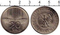 Изображение Монеты Польша 20 злотых 1973 Медно-никель UNC-