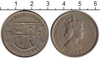 Изображение Монеты Африка Маврикий 1 рупия 1971 Медно-никель XF