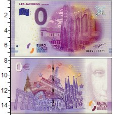 Изображение Банкноты Европа 0 евро 2016  UNC-