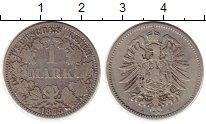Изображение Монеты Германия 1 марка 1875 Серебро VF Старогербовка А