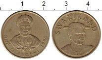 Изображение Монеты Африка Свазиленд 1 лилангени 1996 Латунь XF