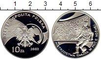 Изображение Монеты Польша 10 злотых 2002 Серебро Proof
