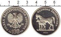 Изображение Монеты Польша 100 злотых 1981 Серебро Proof-