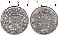 Изображение Монеты Португалия 50 сентаво 1912 Серебро XF