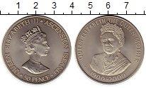 Изображение Монеты Великобритания Остров Вознесения 50 пенсов 2000 Медно-никель UNC