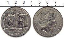 Изображение Монеты Гернси 5 фунтов 2002 Медно-никель UNC- Елизавета II.  50 -