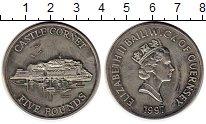 Изображение Монеты Гернси 5 фунтов 1997 Медно-никель UNC-