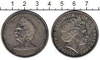 Изображение Монеты Великобритания Гернси 5 фунтов 2002 Медно-никель UNC-
