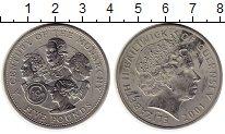 Изображение Монеты Великобритания Гернси 5 фунтов 2001 Медно-никель UNC-