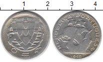 Изображение Монеты Португалия 2 1/2 эскудо 1946 Серебро VF