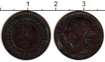 Изображение Монеты Стрейтс-Сеттльмент 1/4 цента 1872 Медь VF Виктория