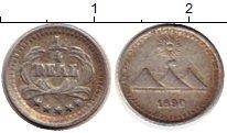 Изображение Монеты Северная Америка Гватемала 1/4 реала 1890 Серебро XF-