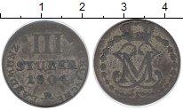 Изображение Монеты Германия Берг 3 стюбера 1804 Серебро VF