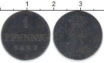 Изображение Монеты Ганновер 1 пфенниг 1842 Медь XF