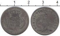 Изображение Монеты Вюртемберг 6 крейцеров 1810 Серебро VF