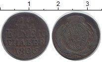 Изображение Монеты Саксония 1/48 талера 1806 Серебро VF В